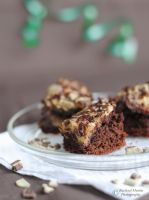 Mint Brownies by VisualPoems