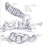 Snake preliminary sketches by Promet-he-us