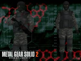 Plant Alert (Metal Gear Solid 2 Sons of Liberty) by DaBiggieK