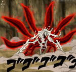 Naruto Six Tails by Itachis999