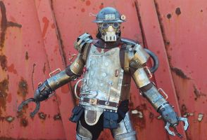 Steampunk Mechanical Soldier Mk I (10) by Zilochius
