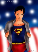 Superman DC Comics by MilkySaturn