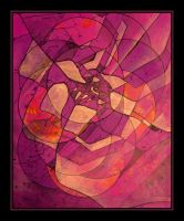 purple abstraction by santosam81