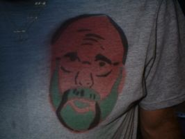 dad on shirt by Pezfiend