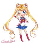 Chibi Sailor Moon by Sweetbites91