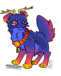 Sunset Sky Jinwa - Adopt Auction - Open by BKcrazies0