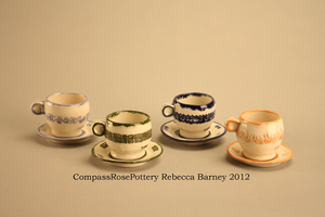 Element Tea Cups by CompassRosePottery