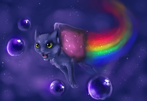 Nyan Cat by miokiller