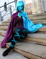 Phai/ Fi Cosplay - Phai's waiting for her master by cloud-dark1470