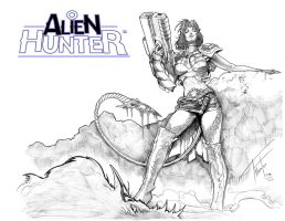 Alien Hunter Mikah by Razielssecret
