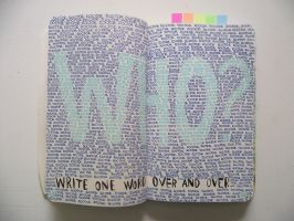 WTJ - write one word over and over. by Alicss