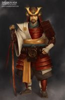 Shogun Asa - King Arthur by mahons