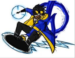 Static Shock for Cherrie-Keane by Technicolor-Artist