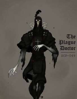 The Plague Doctor by Mohanga
