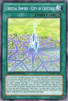 City of Crystals (MLP): Yu-Gi-Oh! Card by PopPixieRex