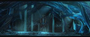 Frozen Cave by yinteck
