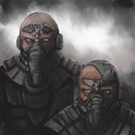 Inquisition Shock Troopers by Crowsrock