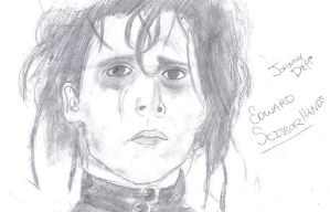 Edward-Johnny Depp by Kerra-D