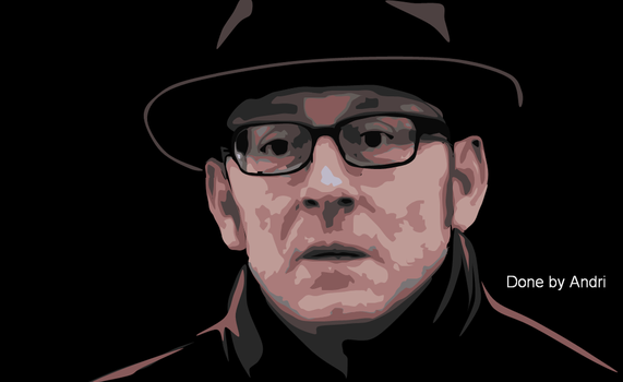 Harold Finch / Michael Emerson Person of Interest by N-Shaddriow