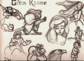 Glen Keane Tribute by alohaman636