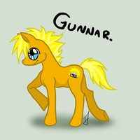 Gunnar the Pony by issabissabel