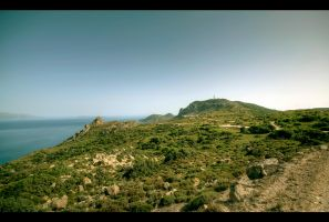 Hiking the Kefalos by Beezqp
