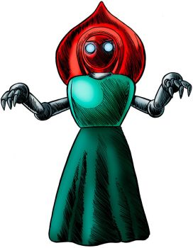 The Flatwoods Monster by Loneanimator