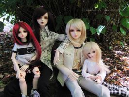 Family Portrait by Lavandula-BJD