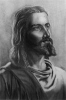 Jesus Portrait by dabbuti