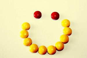 M and Ms smile by AbedArslan86