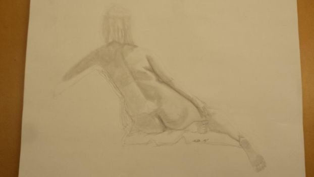 Life Drawing: 13 by vilesyn