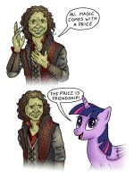 The Price of Magic by JohnRaptor