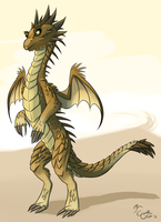 Desert Dragon by EarthGwee