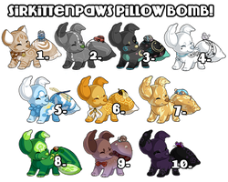 SKP Pillow Bomb! (CLOSED) by CloverCoin
