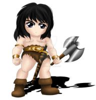 Conan The Barbarian Chibi by ExoroDesigns