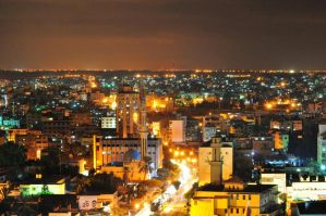 Gaza at Night by ledo4life