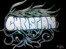 Christian logo by hedgiee