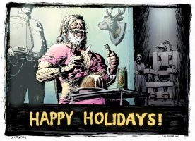Happy Holidays 2013 by leeoconnor