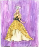 Barbie Fashion Illustration by angelaaasketches