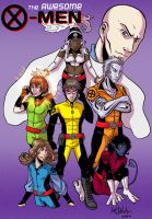 The Awesome X-Men by darthmongoose