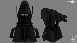 Claymore Loch Awe - Double Grenade Launcher by CentificGrafics