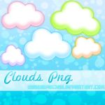 Color Clouds Png by NyaAkemiChan