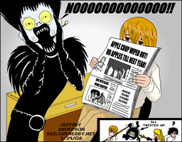 Death Note Ryuks Nightmare by SailorEnergy
