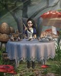 Teatime by tombraider4ever