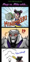 [TFP+RB] Megs vs Miko with... [Doodle6] by SolarGirlMina