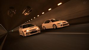 GT6 - Special Stage Route Lancer Evolution 4 vs 6 by WingGT5