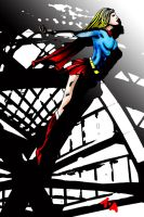 Super girl. by Tezza-jr