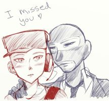 I missed you by xCopycat