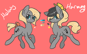 Harmony and Melody c: by Cabooselover