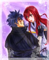 Jellal and Erza_2 by Yuri-chan24